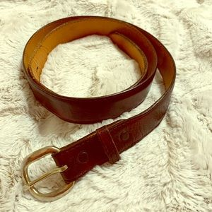 Red Cherry Belt (C my closet/match Lucchese boots)